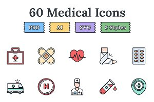 Medical – Epic landing page icons