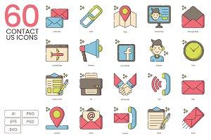 60 Contact Us Icons | Hazel