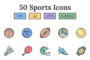 Sports – Epic landing page icons