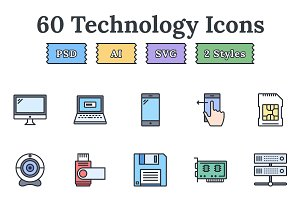 Technology – Epic landing page icons
