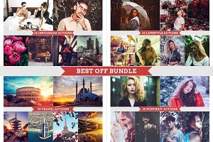 Best off Bundle Photoshop Actions
