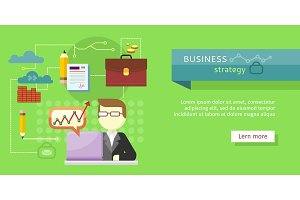 Business Strategy Web Banner