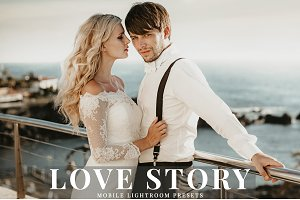 Love Story Mobile Lightroom Presets