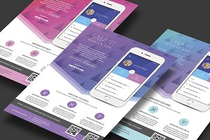 Colorful App Flyer Template