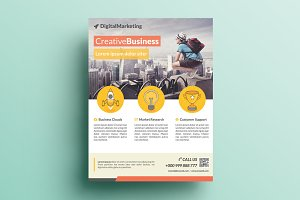 Creative Corporate Flyer V15