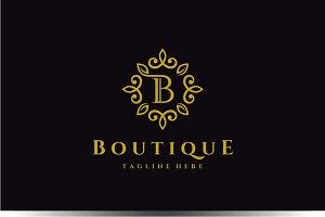 Letter B Luxury Logo
