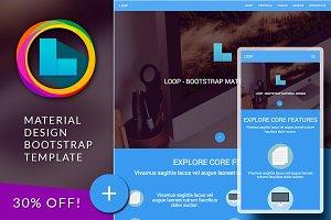 LOOP Bootsrap responsive template