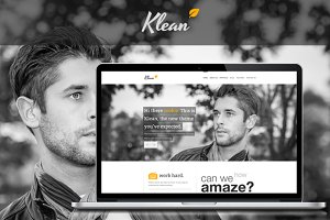 Klean Wordpress Responsive Theme