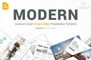 Modern Google Slides Template