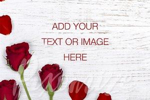 Valentines Styled Stock Photo