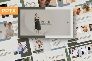 Elle Creative Powerpoint Template