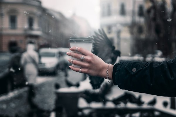 Beauty & Fashion Stock Photos: Elijah - A girl's hand hold coffee