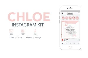 Instagram Marketing Kit - Chloe