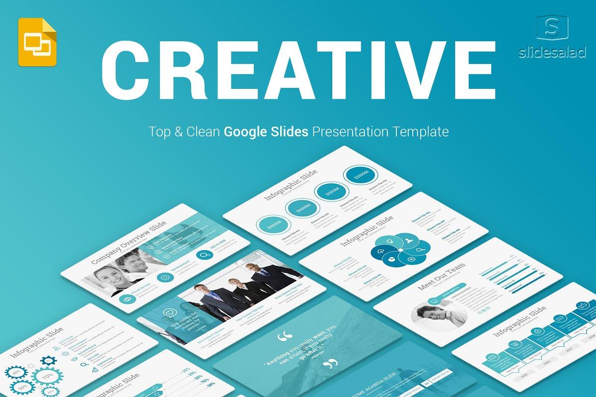 Top Creative Google Slides Template ~ Google Slides