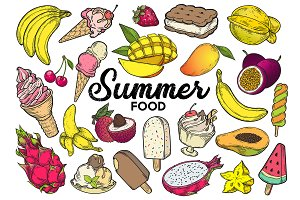 Summer food set