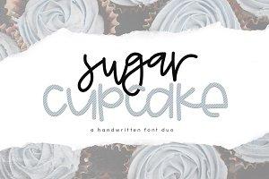 Sugar Cupcake - Handwritten Font Duo