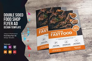 Food Menu Flyer Design v1