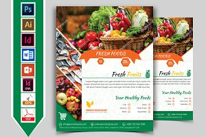 Fresh Food Grocery Shop Flyer Vol-03