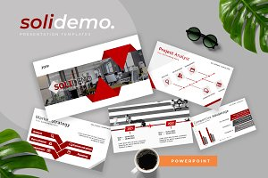 Solidemo Pitch Deck Powerpoint