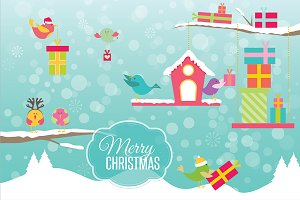 Christmas Birds, Vol 1