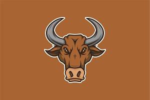 Bull Head Squad-Mascot & Esport Logo