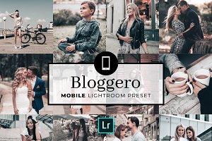 Mobile Lightroom Preset Bloggero