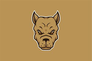 Dog Head Squad-Mascot & Esport Logo