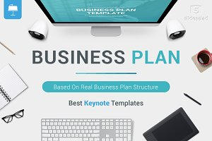 Best Business Plan Keynote Template