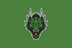 Dragon Head Squad-Mascot & Esport Lo