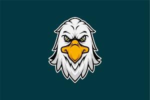 Eagle Head Mascot & Esport Logo