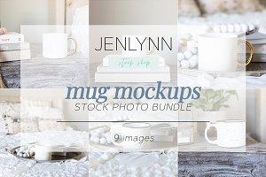 White Mug Mockup | Styled Stock