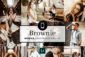 Mobile Lightroom Preset Brownie