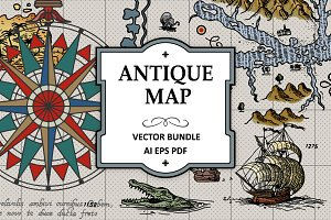 Antique Maps Vector Bundle