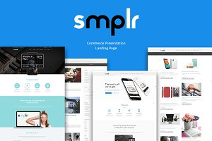Smplr: Commercial Presentation Theme