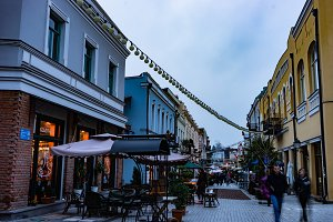 Evening walking in Old Tbilisi