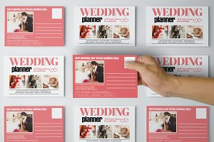Wedding Planner Promotion PostCard