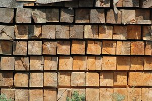 Wooden squares blocks - background