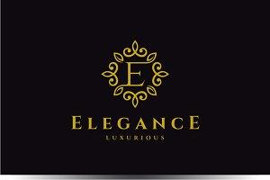 Letter E Luxury Logo