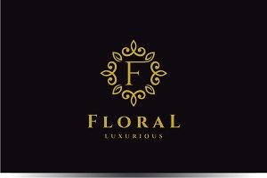 Letter F Luxury Logo