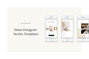 Diana Instagram Stories Pack