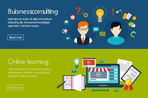 Business consulting, online learning