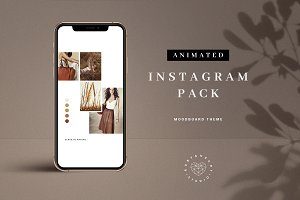 Animated Moodboard Instagram Pack
