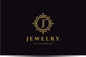 Letter J Luxury Logo