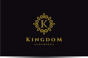 Letter K Luxury Logo