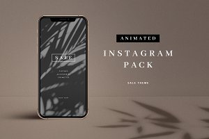 Animated Sale Instagram Pack