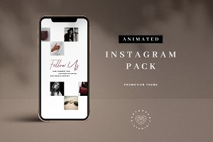 Animated Promotion Instagram Pack