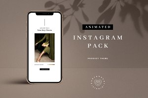 Animated Product Promo Insta Pack