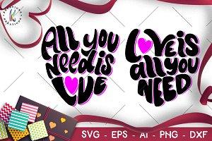 Valentine's Day svg Love