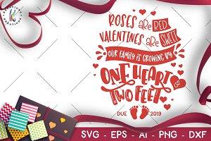 Valentine's Day svg Newborn