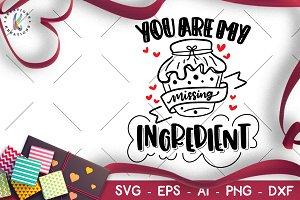 Valentine's Day svg Ingredient